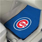 Fan Mats Chicago Cubs Carpet Car Mats (set)