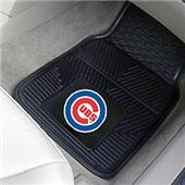 Fan Mats Chicago Cubs Vinyl Car Mats (set)