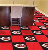 Fan Mats MLB Cincinnati Reds Carpet Tiles