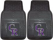 Fan Mats Colorado Rockies Vinyl Car Mats (set)