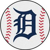 Fan Mats Detroit Tigers Baseball Mats