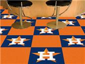 Fan Mats MLB Houston Astros Carpet Tiles