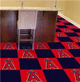 Fan Mats MLB Los Angeles Angels Carpet Tiles