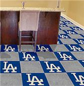 Fan Mats MLB Los Angeles Dodgers Carpet Tiles
