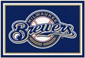 Fan Mats Milwaukee Brewers 5' x 8' Rugs
