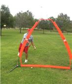 Bow Net Portable Pitching Screen