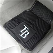 Fan Mats Tampa Bay Rays Vinyl Car Mats (set)