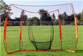 Bow Net Portable Mini Backstop Hitting Station