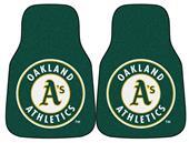Fan Mats Oakland Athletics Carpet Car Mats (set)