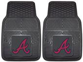 Fan Mats Atlanta Braves Vinyl Car Mats (set)