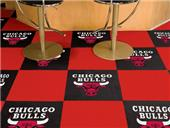 Fan Mats NBA Chicago Bulls Carpet Tiles