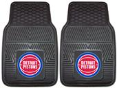 Fan Mats Detroit Pistons Vinyl Car Mats (set)