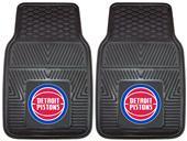 Fan Mats NBA Detroit Pistons Vinyl Car Mats (set)