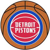 Fan Mats Detroit Pistons Basketball Mats