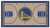 Fan Mats Golden State Warriors Lg NBA Court Runner