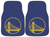Fan Mats Golden State Warriors Car Mats (set)