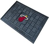 Fan Mats Miami Heat Door Mats