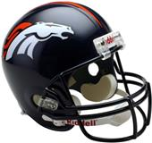 NFL Broncos Deluxe Replica Full Size Helmet