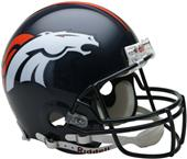 NFL Broncos On-Field Full Size Helmet (VSR4)
