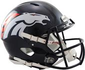 NFL Broncos On-Field Full Size Helmet (Speed)