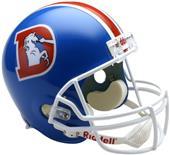 NFL Broncos (75-96) Replica Full Size Helmet (TB)
