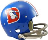 NFL Broncos (68-74) Replica TK Suspension Helmet