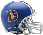 NFL Broncos (75-96) Mini Replica Helmet -Throwback