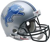 NFL Lions On-Field Full Size Helmet (VSR4)