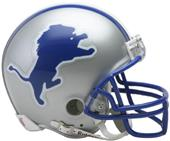 NFL Lions (83-02) Mini Replica Helmet -Throwback