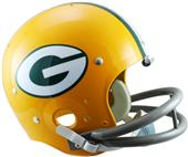 NFL Packers (61-79) Replica TK Suspension Helmet