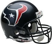 NFL Texans On-Field Full Size Helmet (VSR4)