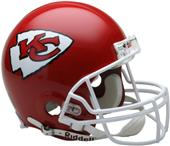 NFL Chiefs On-Field Full Size Helmet (VSR4)