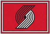 Fan Mats Portland Trail Blazers 5' x 8' Rugs