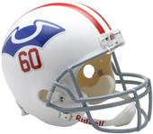 NFL Patriots (1960) Replica Full Size Helmet (TB)