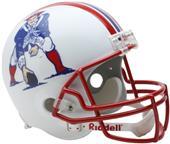 NFL Patriots (90-92) Replica Full Size Helmet (TB)