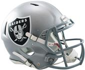 NFL Raiders On-Field Full Size Helmet (Speed)
