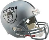 NFL Raiders (1963) Replica Full Size Helmet (TB)