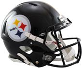NFL Steelers On-Field Full Size Helmet (Speed)