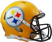 NFL Steelers Gold Full Size Helmet (Speed)