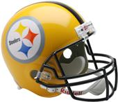NFL Steelers Gold 07 Replica Full Size Helmet (TB)