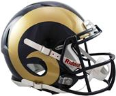 NFL Rams On-Field Full Size Helmet (Speed)