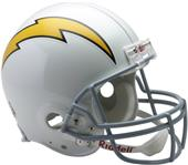 NFL Chargers (61-73) On-Field Full Size Helmet -TB