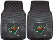 Fan Mats NHL Minnesota Wild Vinyl Car Mats