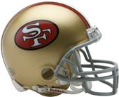 NFL 49ers (64-95) Mini Replica Helmet Throwback