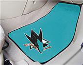 Fan Mats NHL San Jose Sharks Carpet Car Mats (set)