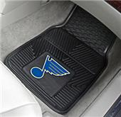 Fan Mats NHL St Louis Blues Vinyl Car Mats (set)
