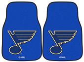 Fan Mats NHL St Louis Blues Carpet Car Mats (set)