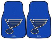 Fan Mats NHL St Louis Blues Carpet Car Mats (set)