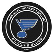 Fan Mats NHL St Louis Blues Puck Mats