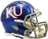NCAA Kansas Speed Mini Helmet